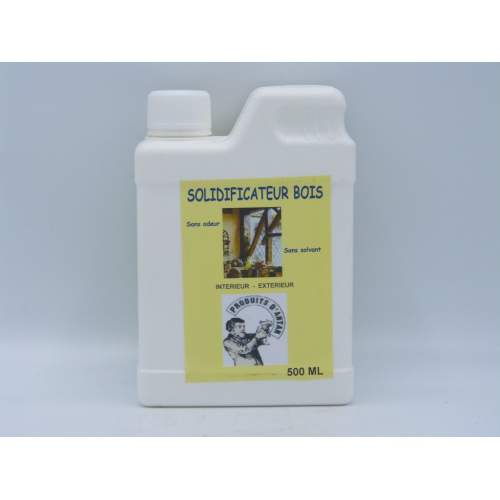 SOLIDIFICATEUR BOIS VERMOULUS 500  ML